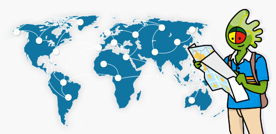 Mapa de rotas