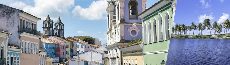 Bahia: Salvador + Costa do Sauípe, ao seu gosto com estadia em praia