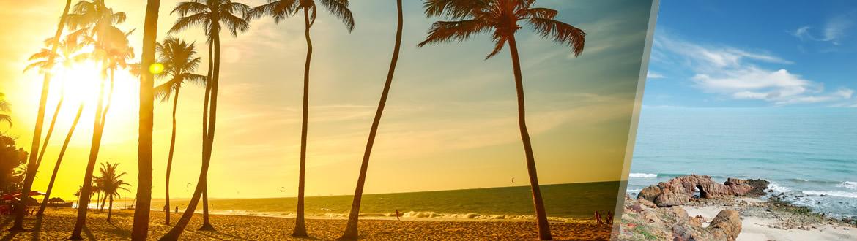 Ceará: Fortaleza + Jericoacoara, à sua escolha com estadia em praia