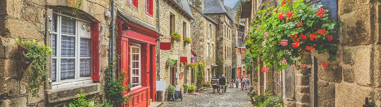 França: Rota pela Normandia, Bretanha e Vale do Loire, à sua escolha de carro