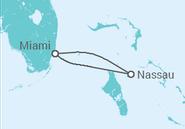 Itinerário do Cruzeiro  Bahamas - Carnival Cruise Line
