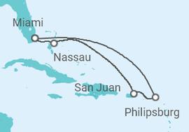 St. Maarten, Porto Rico, Bahamas