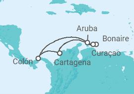 69bd1def93 Cruzeiro Antilhas e Caribe Sul a partir de R  2.552. Navio Monarch ...