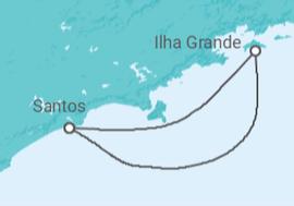 4a83cdfa86 Cruzeiro Ilha Grande a partir de R  2.181. Navio MSC Seaview