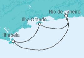 6b1cb89d4d Itinerário do Cruzeiro Ilha Grande