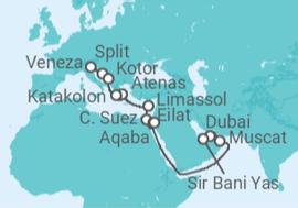 e91997230c Cruzeiro De Dubai a Veneza (Itália) a partir de R  4.334. Navio MSC ...
