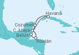 be01d60ed4 Itinerário do Cruzeiro Cuba