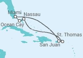 a1ac14606f Itinerário do Cruzeiro Porto Rico