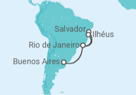 ed897d04e5 Itinerário do Cruzeiro Argentina