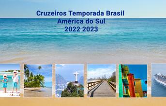 Cruzeiros Verão 17/18 Brasil. Am. do Sul e Caribe!